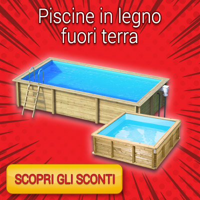 RED WEEK - piscine fuori terra in legno