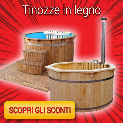 RED WEEK - tinozze in legno