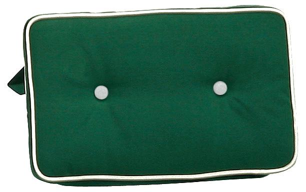 Cuscini per schienale 40x24 cm con doppia cucitura VERDE