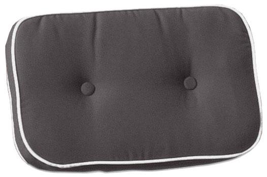 Cuscini per schienale 40x24 cm con doppia cucitura GRIGIO