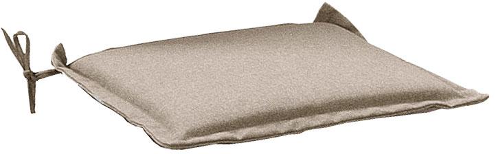 Cuscino per seduta 38x38 cm con volant SABBIA