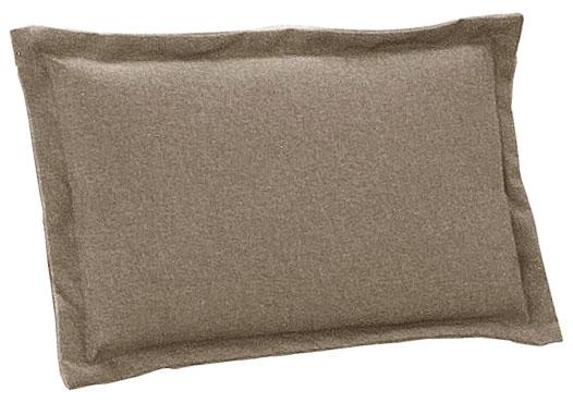Cuscino per schienale 38x24 cm con volant SABBIA