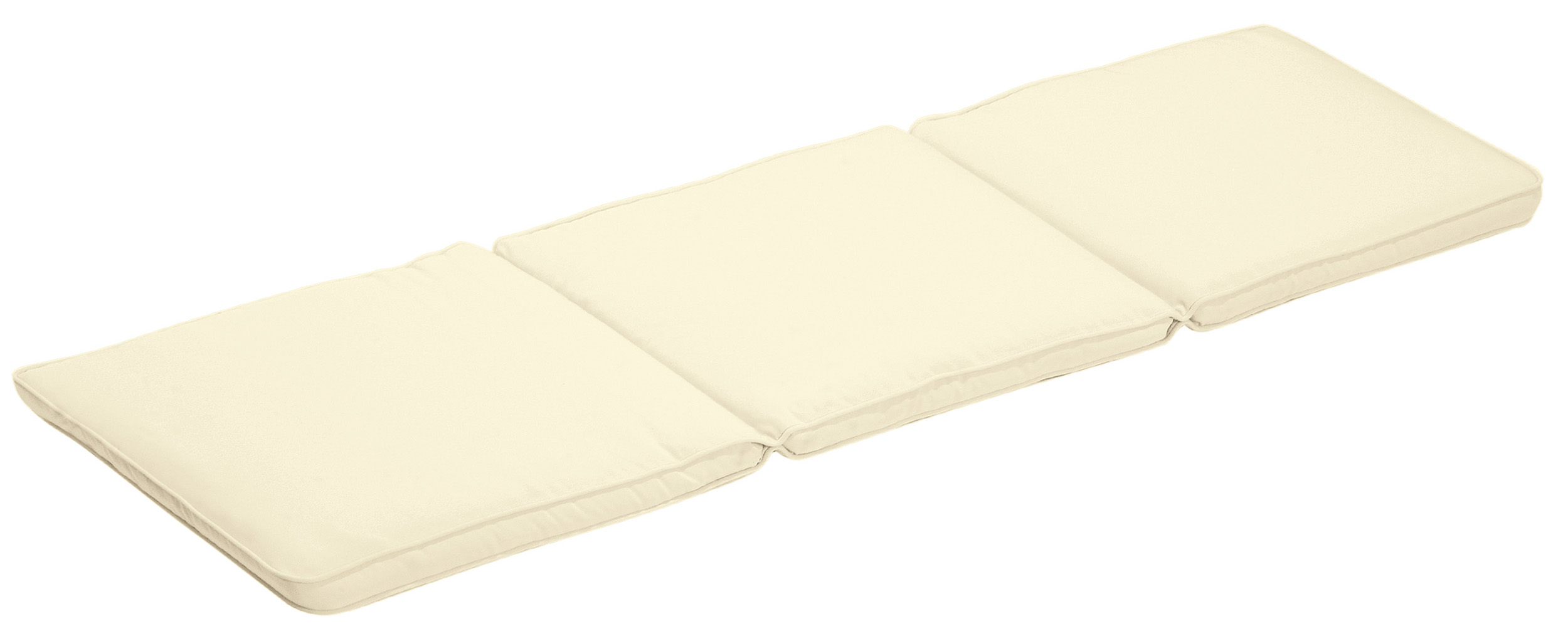 Cuscino per panca con doppia cucitura ECRU