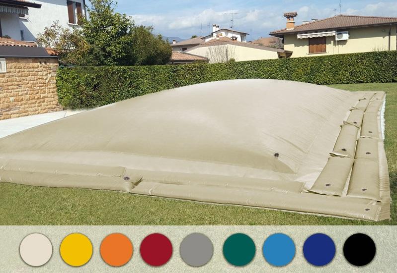 copertura AirCover per piscina