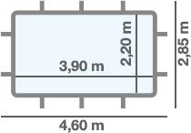 dimensioni piscina ARUBA