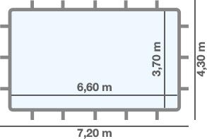 dimensioni piscina ARUBA TOP