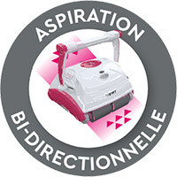 Aspirazione bi-direzionale Robot BWT Linea D