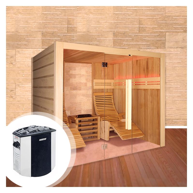 Kit Sauna Alto Stone - Con Stufa