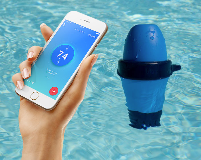 Analizzatore digitale per acqua piscina Blue Connet