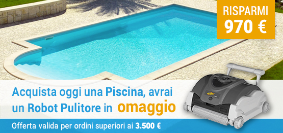 Offerta piscina interrata in casseri