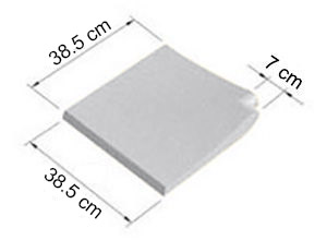 Standard Bianco liscio