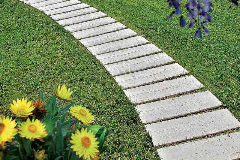 Camminamento Listone LEGNO AUTENTIKA 90 x 25 h 5 cm