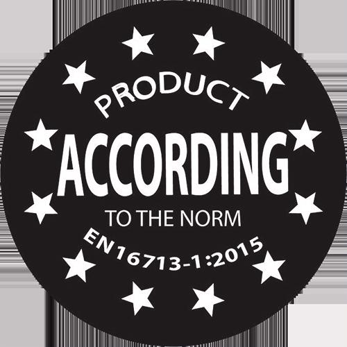 Certificazione EN 16713-1:2015
