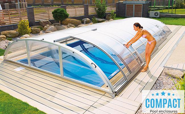 Copertura telescopica per piscina CAROLINA STANDARD