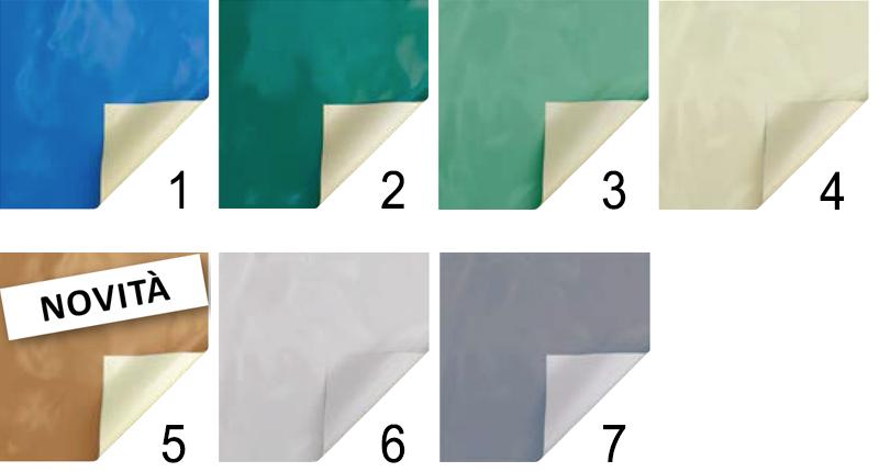 colori copertura piscina