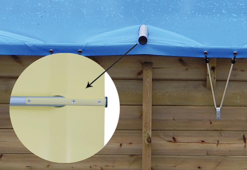 Avvolgitore automatico per copertura piscina
