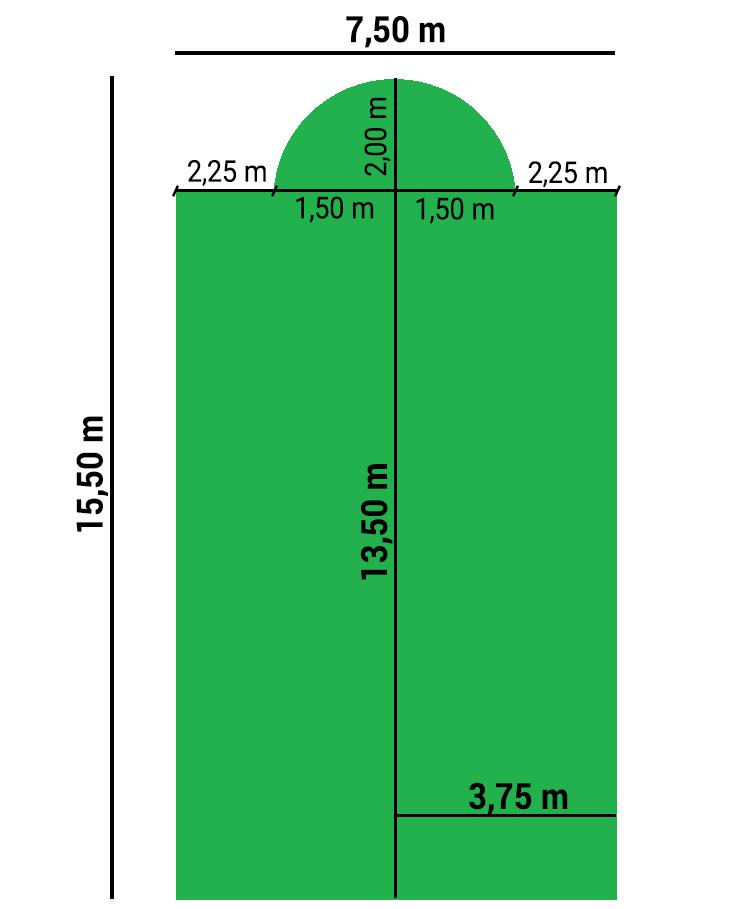 Dimensioni copertura invernale per piscina GEOCOVER