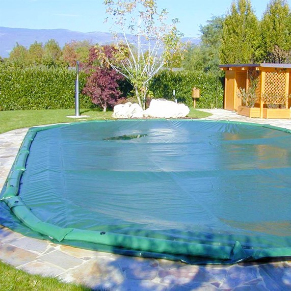 Copertura invernale standard per piscina interrata