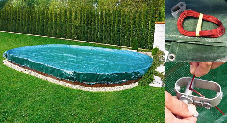 Copertura invernale per piscine azuro