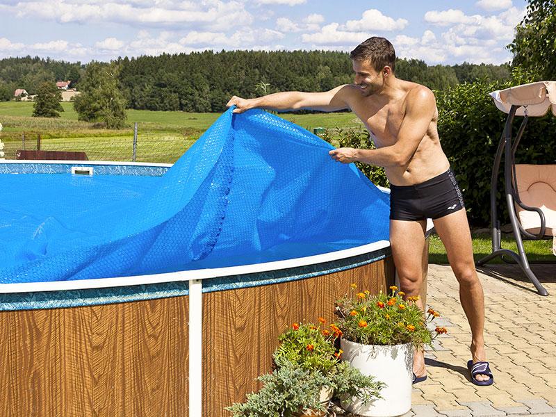 Copertura isotermica per piscine azuro