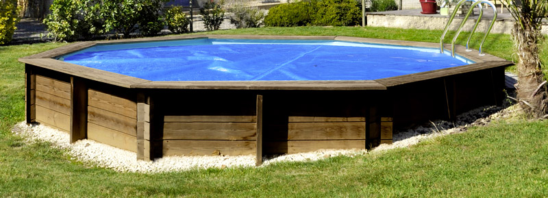 Copertura Isotermica a bolle per piscine in legno Poolwood