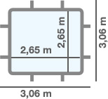 dimensioni piscina DEMO
