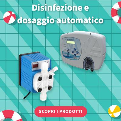 SALDI ESTIVI 2021 - Disinfezione e dosaggio automatico