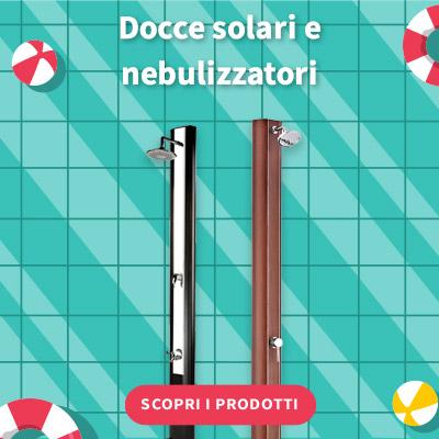 SALDI ESTIVI 2021 - Docce solari e nebulizzatori
