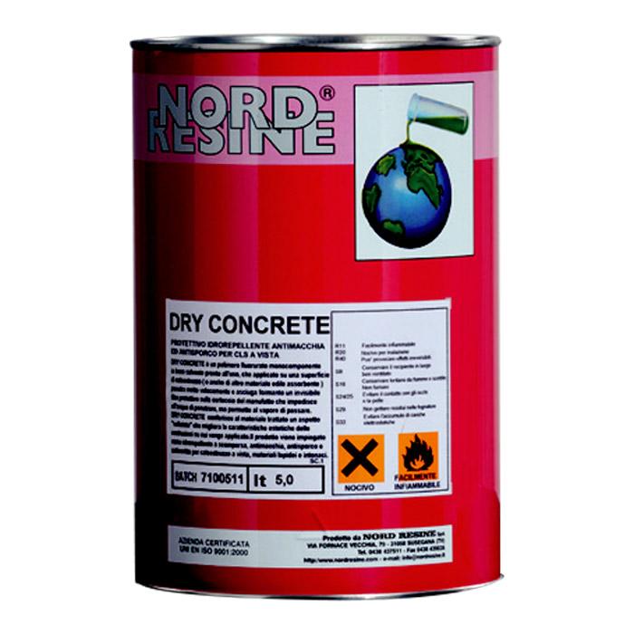 Protettivo impermeabilizzante DRY CONCRETE - tanica da 5 litri