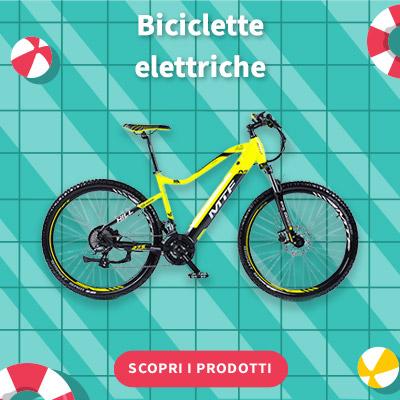 SALDI ESTIVI 2021 - Biciclette elettriche