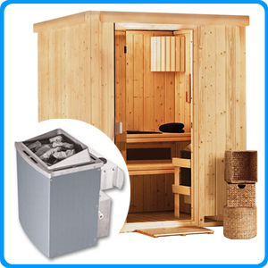 sauna finlandese tradizionale heikki 2 posti. Black Bedroom Furniture Sets. Home Design Ideas
