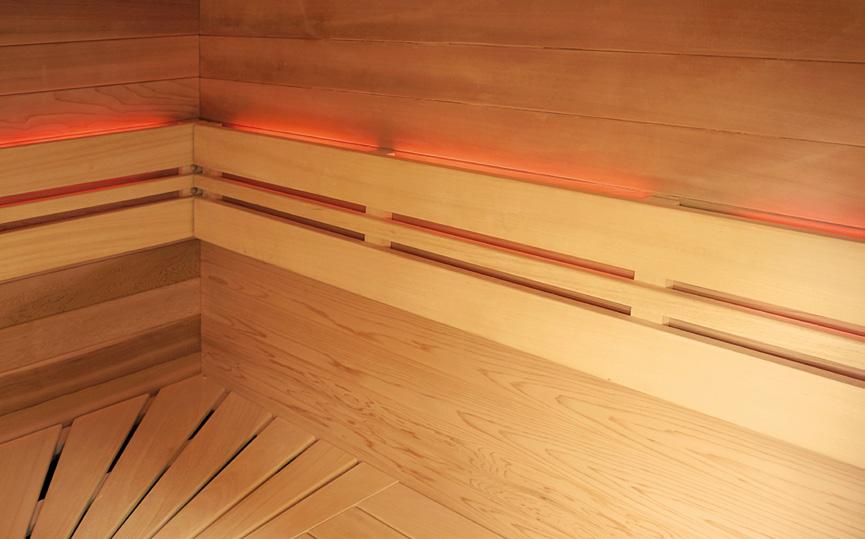 Sauna finlandese a vapore