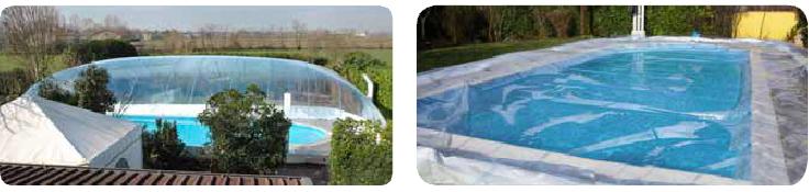 Copertura gonfiabile piscina