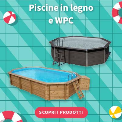 SALDI ESTIVI 2021 - Piscine In Legno e WPC