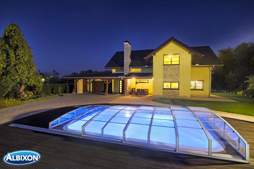 Copertura bassa piscina