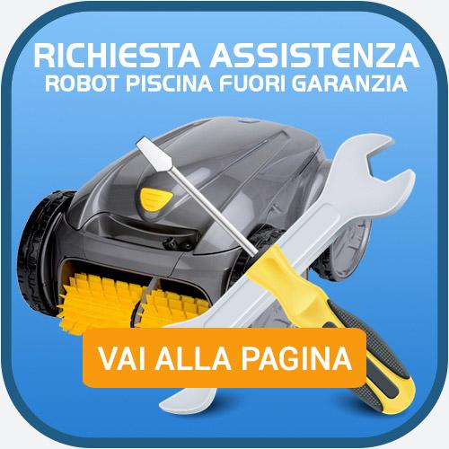 assistenza e riparazione robot