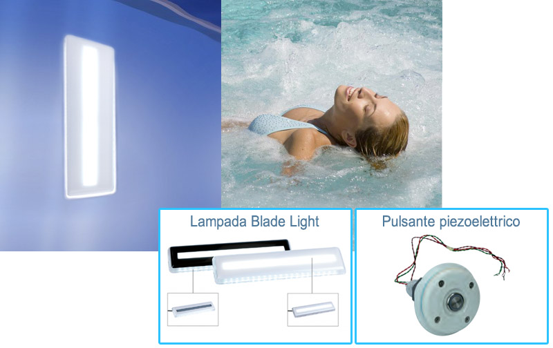 Kit Wellness piscina ITALIKA Steel