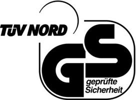 Certificazione TUV NORD GS