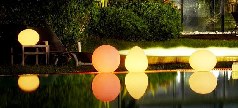 Luce galleggiante per pisicna Starlight Sirio