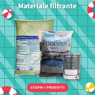 SALDI ESTIVI 2021 - Materiale filtrante