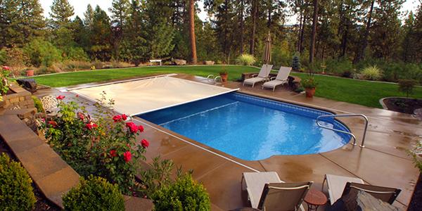 Copertura di Sicurezza per piscina Polartex 4 SEASONS MIDDLETRACK automatica