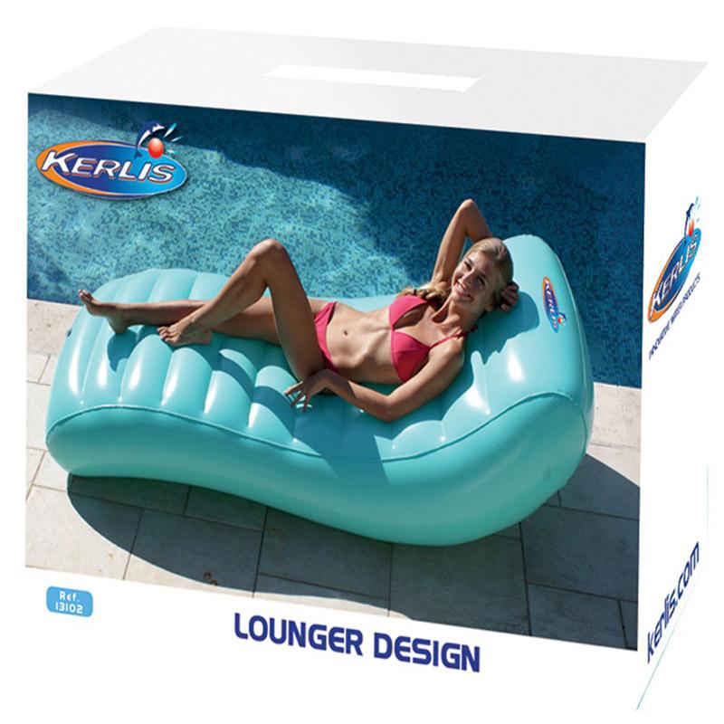Materassino gonfiabile a onda per piscina
