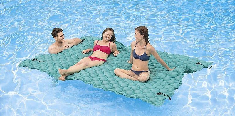 Sdraio materassino gonfiabile per piscina
