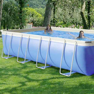 Piscine morbide in PVC