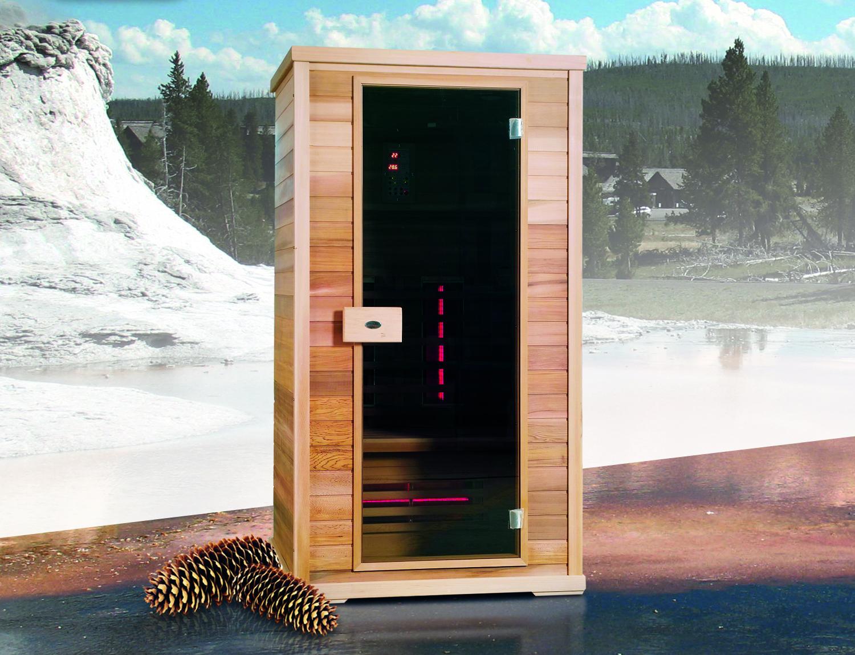 Sauna a infrarossi AURORA 2 posti  BSVillage.com