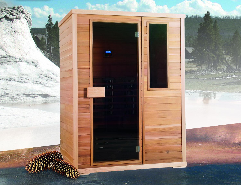 Sauna a infrarossi AURORA 3 posti  BSVillage.com