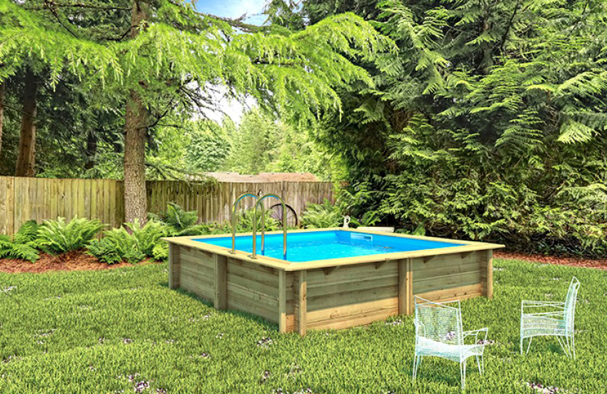 Piscina in legno NaturalWood BWT WEVA 3x3