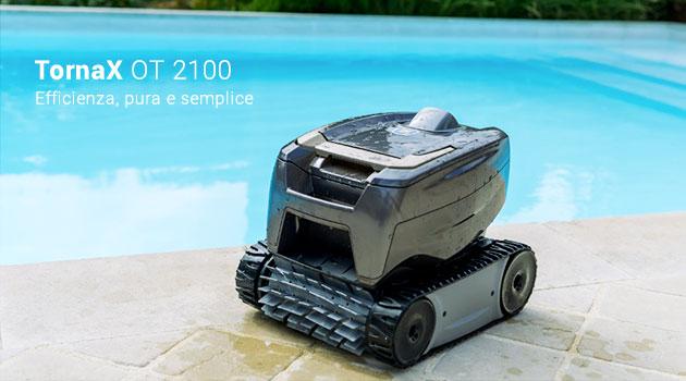 Robot pulitore piscina Zodiac TORNAX OT 2100