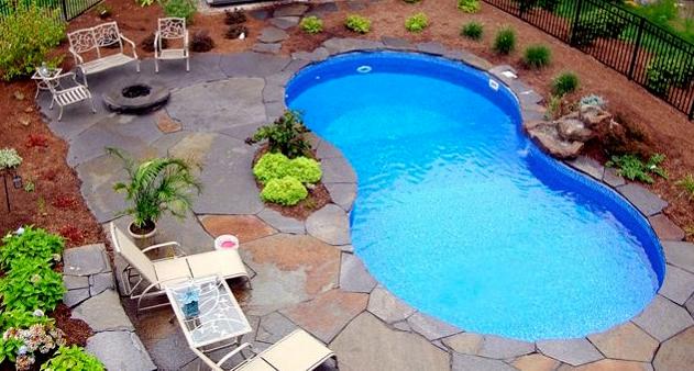 Piscina interrata liberty otto in pannelli d 39 acciaio 9 53 x 6 14 h1 20 m - Liberty piscina cagliari ...