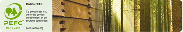 Certificazione PEFC Piscina in legno NaturalWood URBAN
